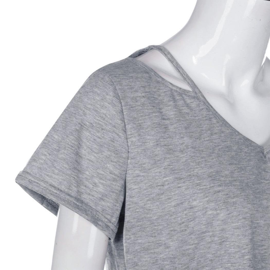 Amazon.com: FORUU womens Tops & Tees Blouse, Fashion Women Summer V Neck Short Sleeve T-Shirt Casual Tee Tops FORUU: Clothing