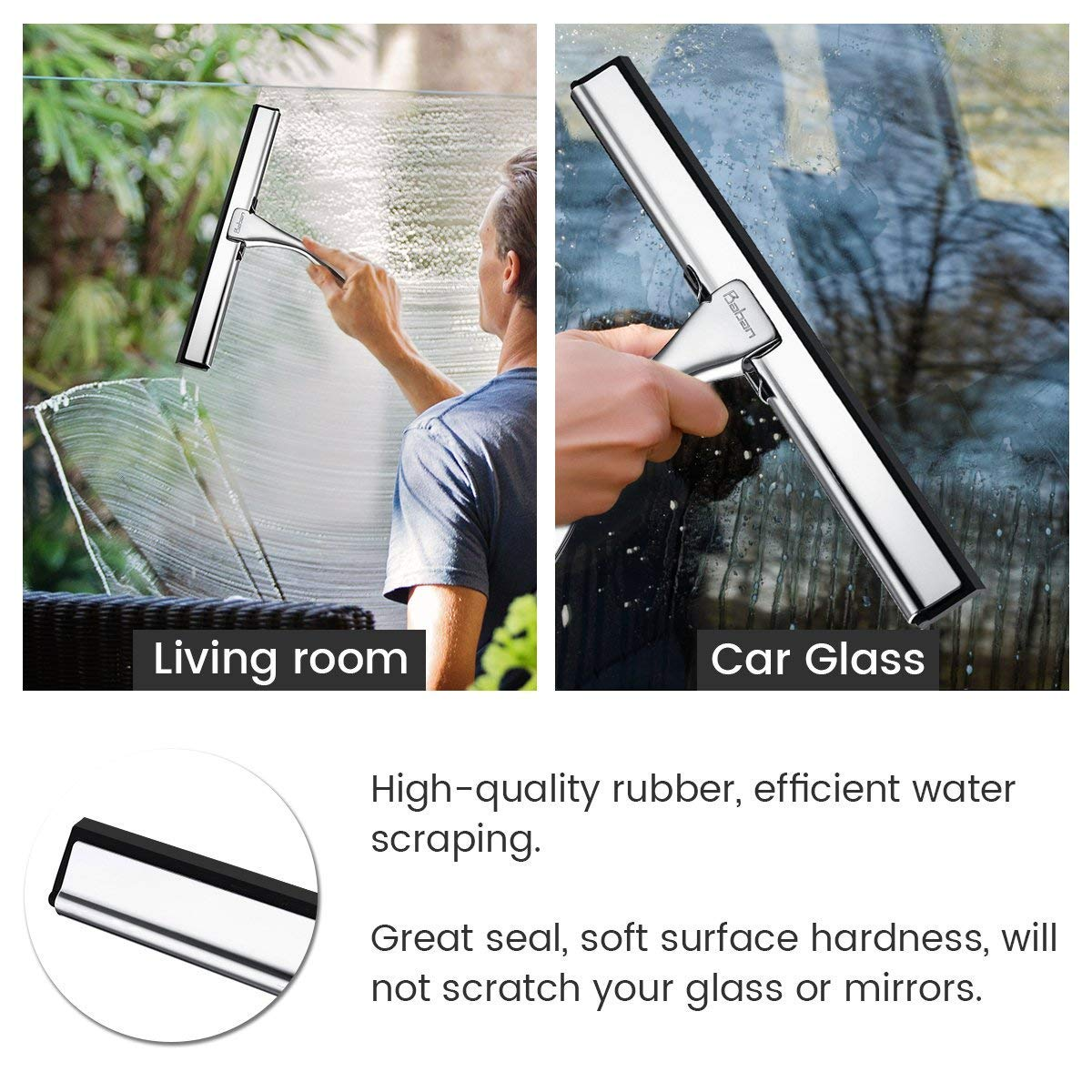 Baban Shower Squeegee Glass Squeegee Window Squeegee All Purpose