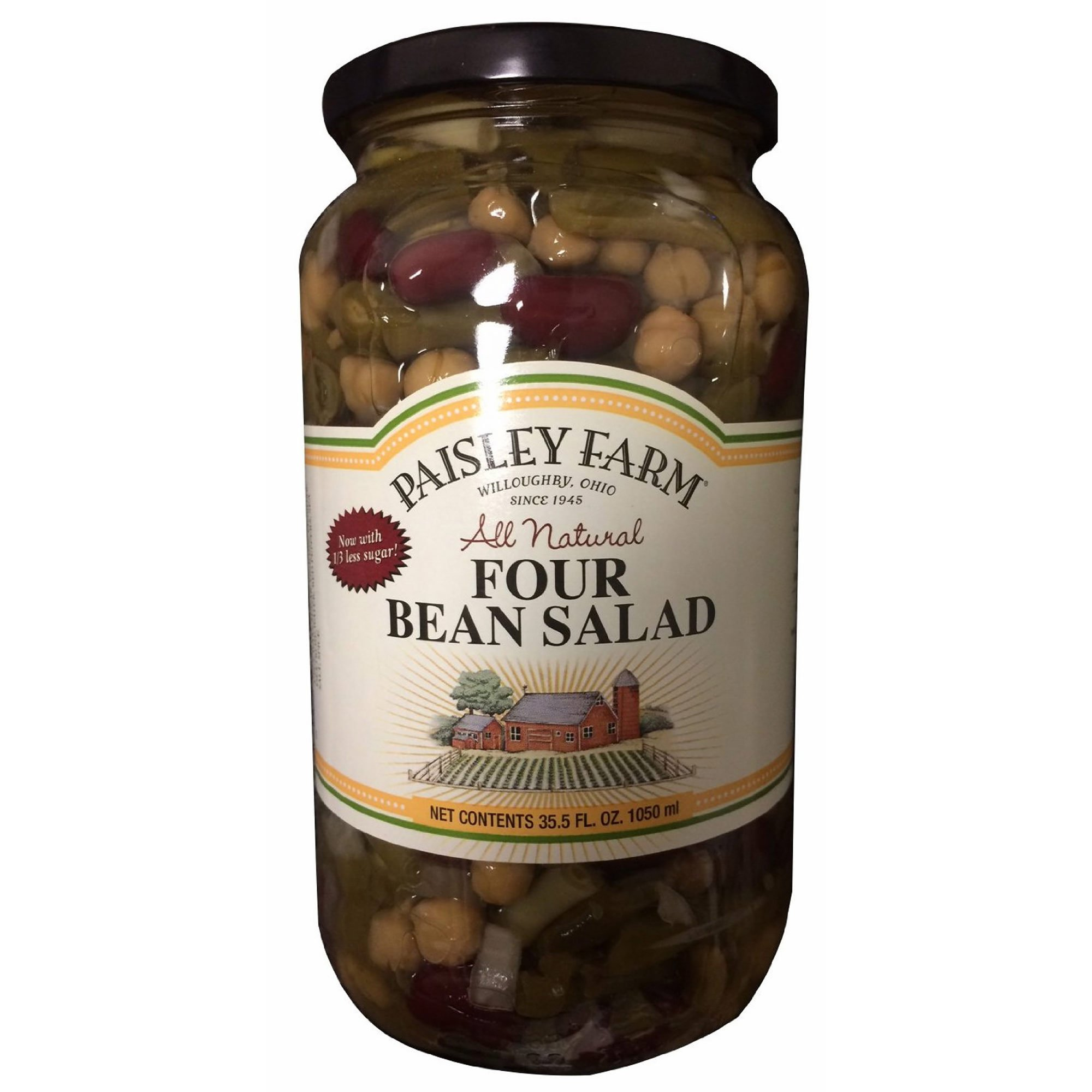 Paisley Farm Natural Four Bean Salad, 2 ct./35.5 oz. (pack of 2)