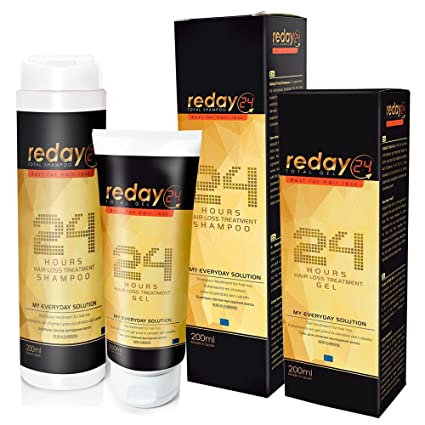 PACK AHORRO ANTICAÍDA REDAY24 TOTAL SHAMPOO + REDAY24 TOTAL GEL (Champú + Gomina Anticaída)