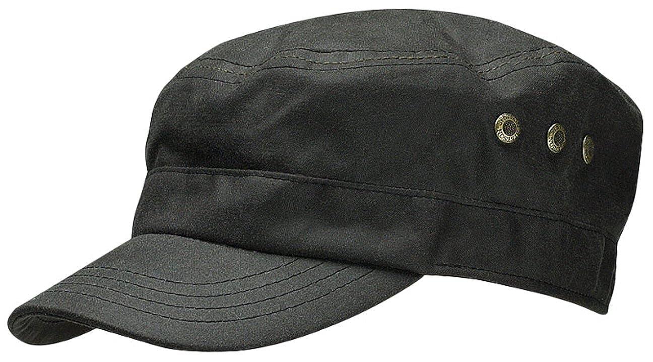 e65b5b84d47 Stetson Austin Waxed Military Cap  Amazon.co.uk  Clothing