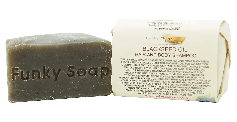 Handcrafted Blackseed Oil Shampoo Bar 120g