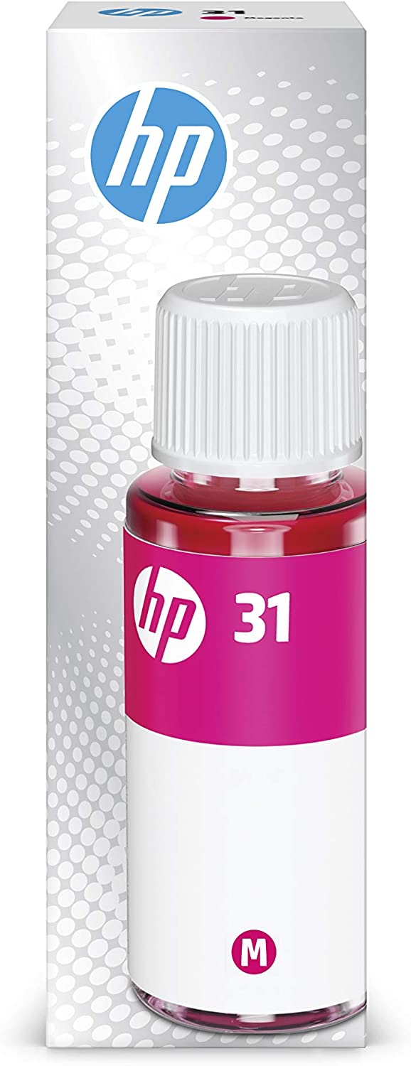 HP 31 Magenta Ink Bottle, 70ml (1VU27AN)