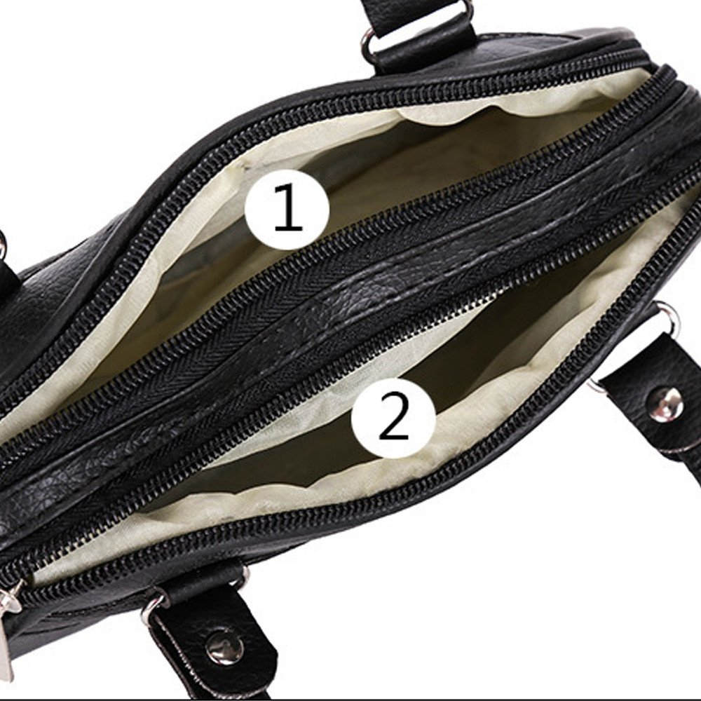 Enjocho Womens Top Hand Handbags PU Leather Tote Bag