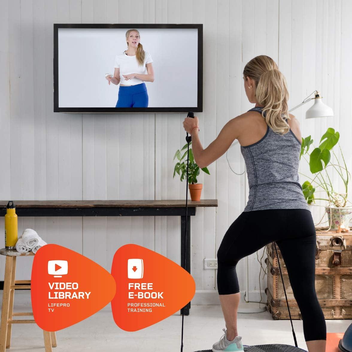 Amazon.com: LifePro Waver máquina de ejercicio con placa de ...