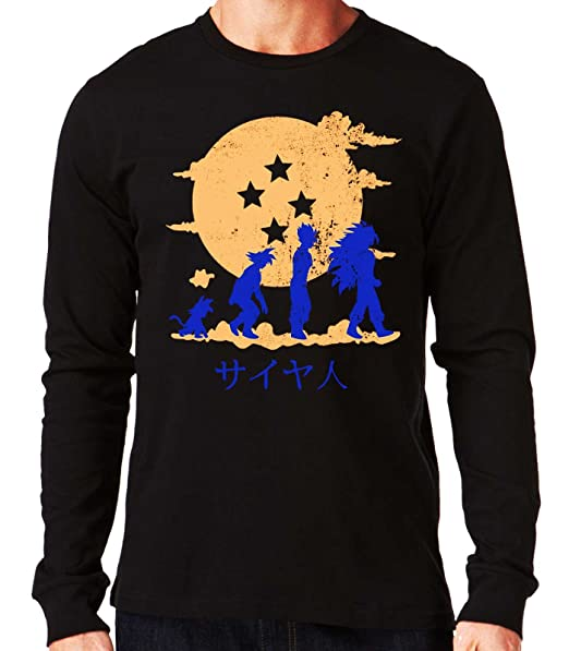 35mm - Camiseta Hombre Evolution Son Goku Dragon ball yZcUdK3i