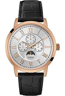 c624299bbd Guess Orologio Cronografo Quarzo Uomo con Cinturino in Pelle W0380G2 ...