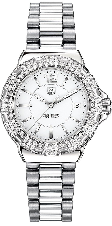 Tag Heuerフォーミュラ1ダイヤモンドレディース腕時計 – wah1218。ba0852 B077ZQ7451