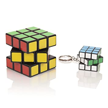 MEGA SALE Sensei Cube - Best Selling Black Stickerless Speed Cube - With Pouch & Puzzle Cubes Solution Guide