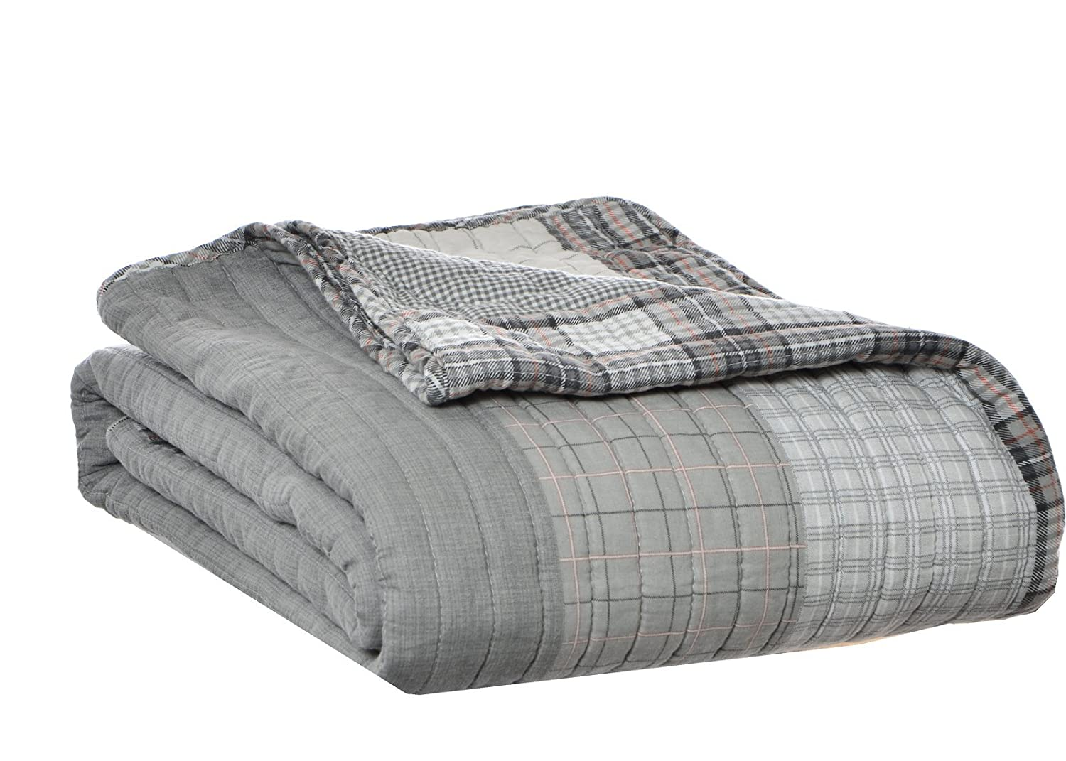 amazoncom eddie bauer fairview quilted cotton throw blanket home kitchen. amazoncom eddie bauer fairview quilted cotton throw blanket