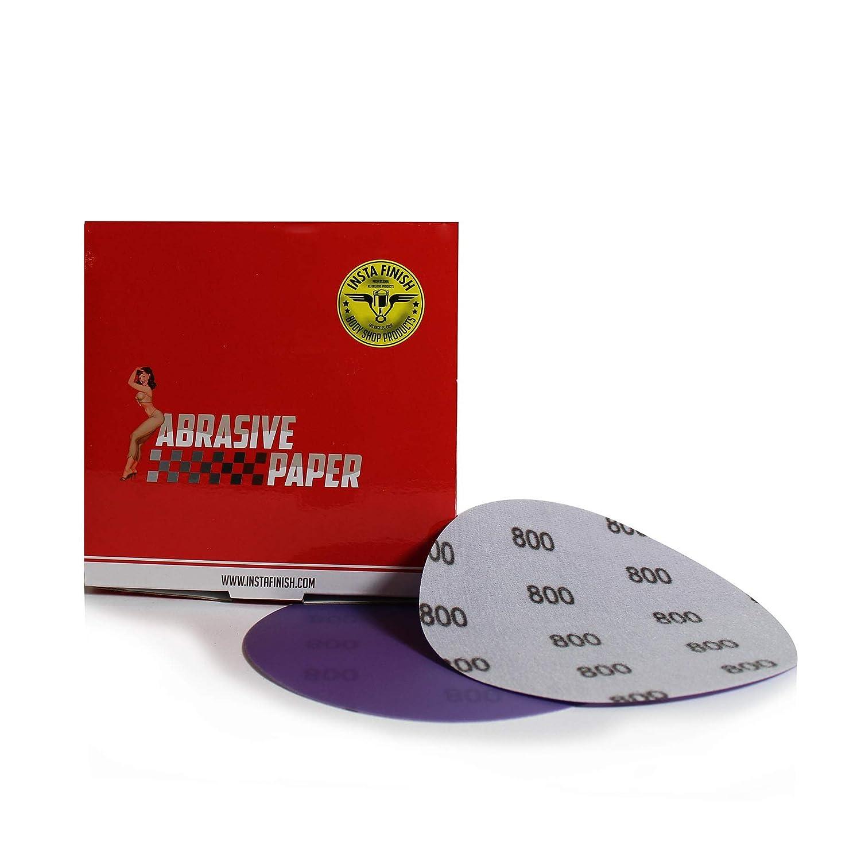Insta Finish Sanding Discs DA 150 Grit Hook /& Loop 50 Discs