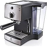 Electrolux EEA111 coffee maker - coffee makers (freestanding, Manual, Espresso machine, Ground coffee, Black, Stainless steel, Plastic)