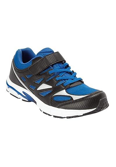 2a22fff47e61c KingSize Men's Big & Tall Velcro No-tie Sneakers
