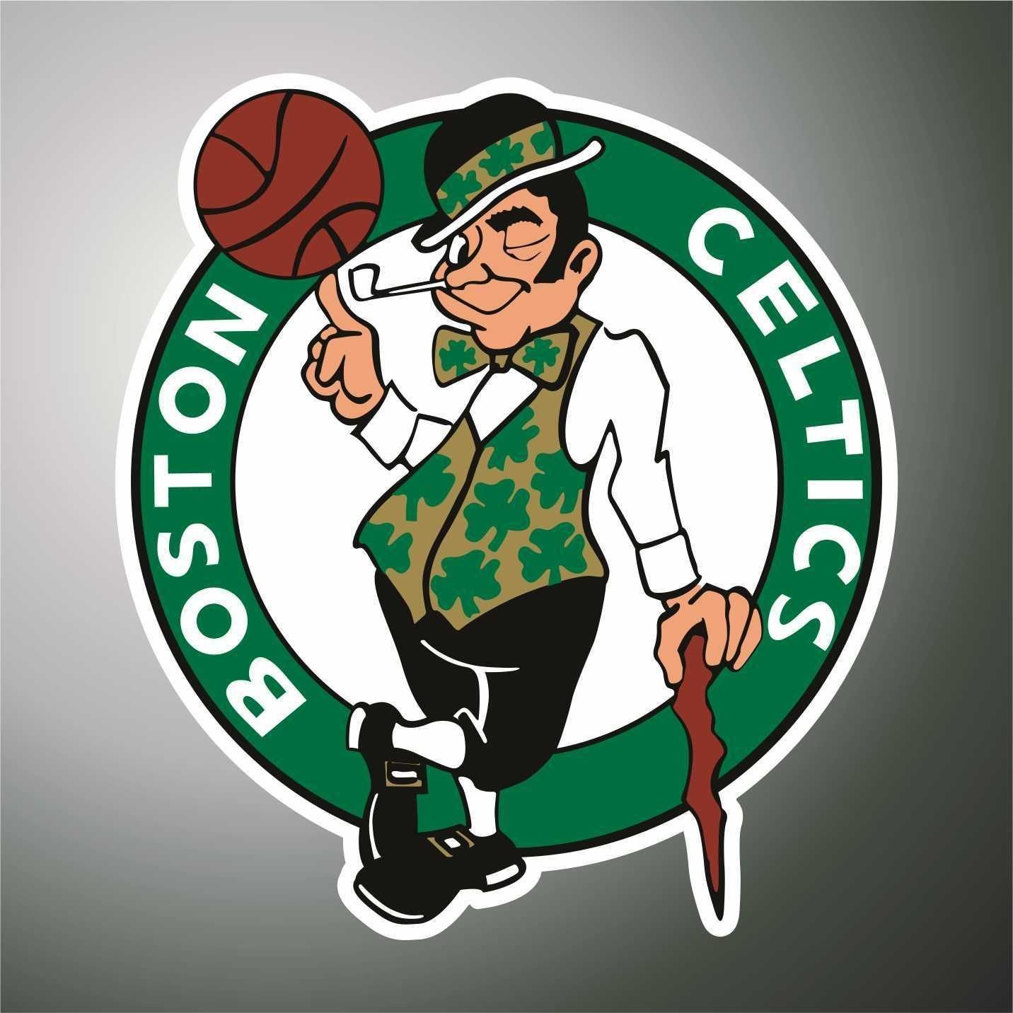 Aufkleber Sticker Boston Celtics Basket NBA sticker