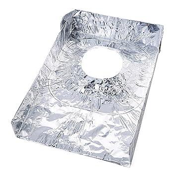 Estufa De Gas A Prueba De Aceite Hoja De Aluminio Estufa De Hojalata Almohadilla De Limpieza