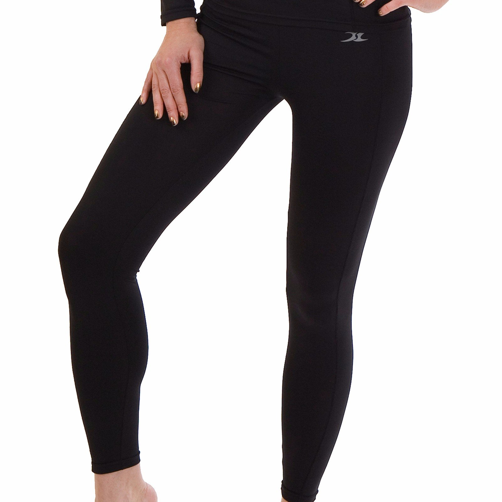 Women Thermal Underwear Pants Leggings Tights Base Layer Compression Bottoms NPW S by Henri maurice (Image #5)