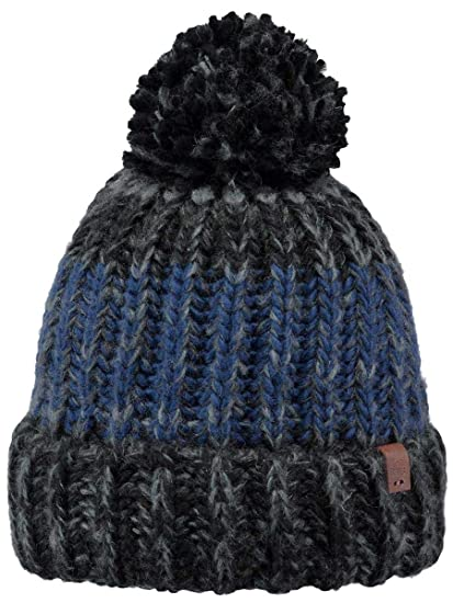 768a370806757 Barts Cole Beanie Black One Size  Amazon.co.uk  Clothing