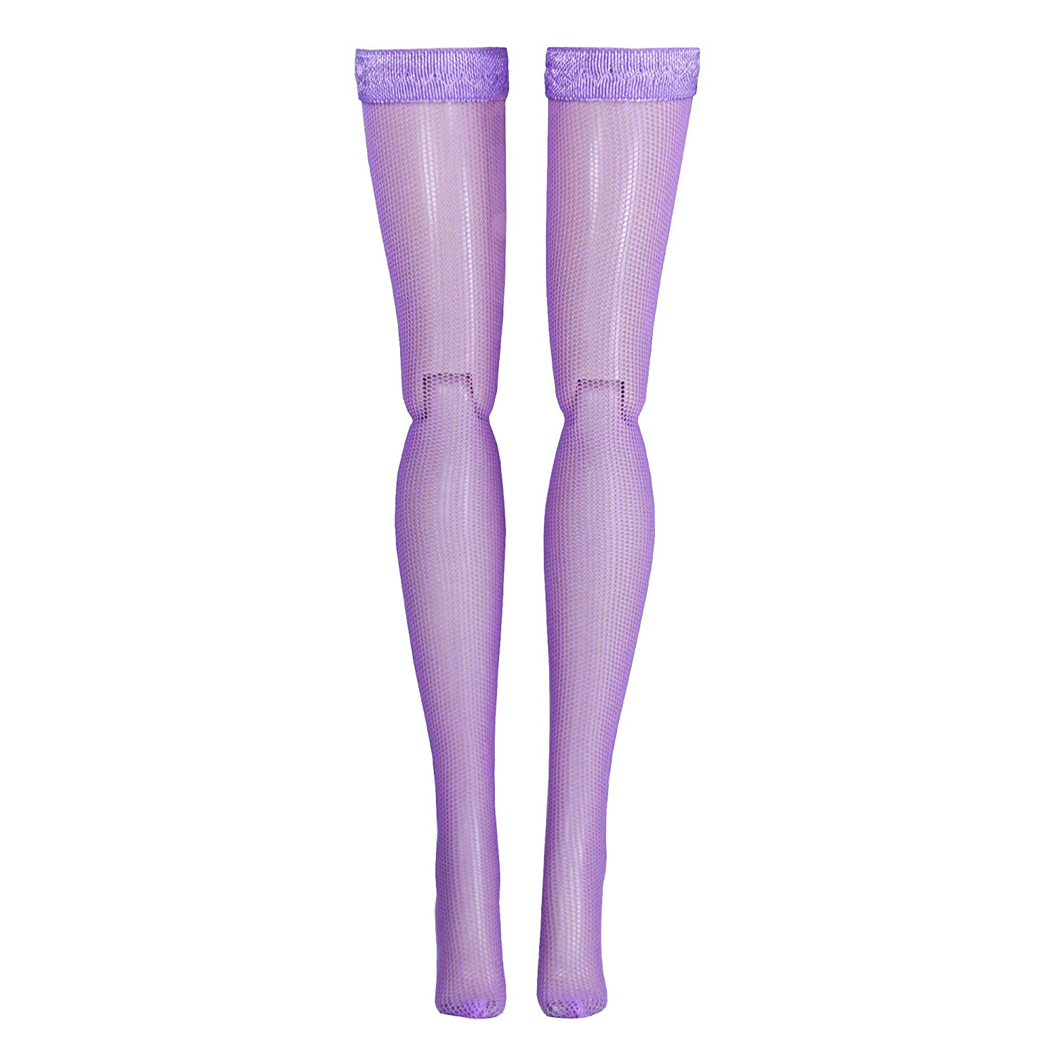 Light Purple Doll Stockings for 1//6 Scale figures Triad Hot Toys Momoko MSD Dollfie Obitsu Phicen Gildebrief BJD