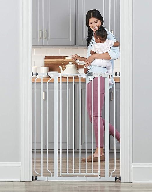 Regalo Easy Step Walk Thru Gate Baby Safety Gates 3DAYSHIP Infant Child NEW