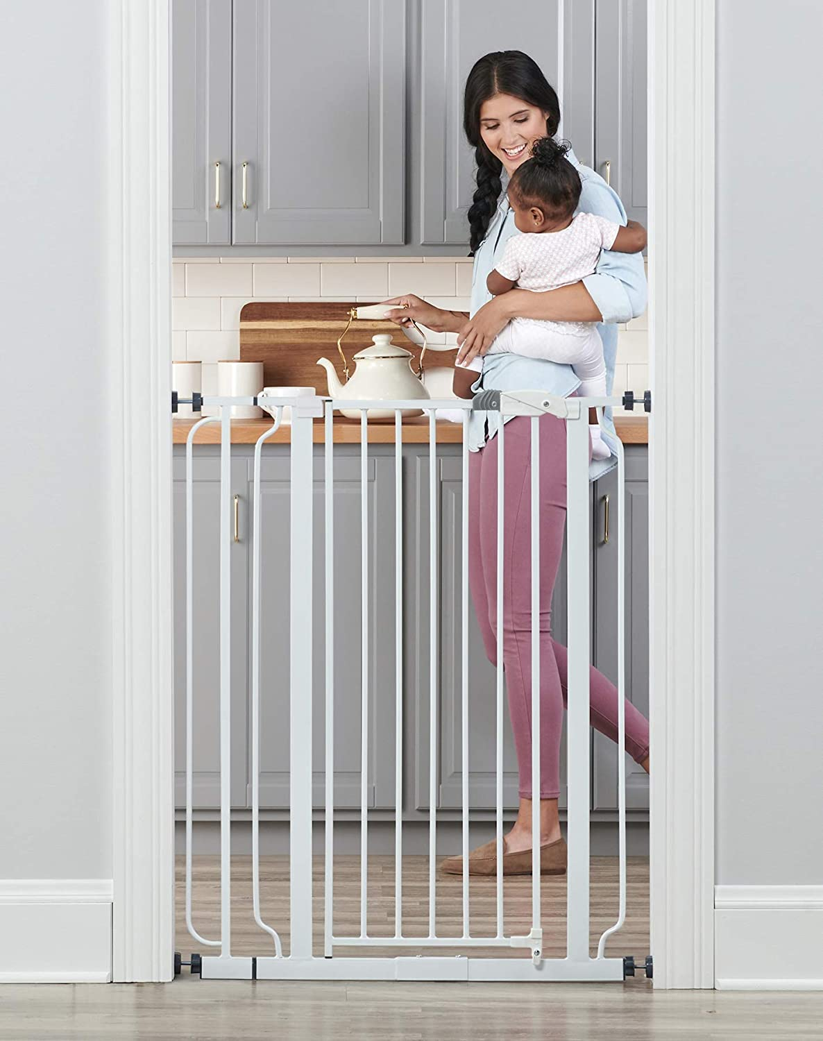 9. Tall safety baby gates