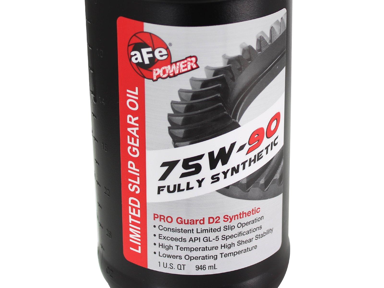 aFe Power 46-70022-WL Pro Series Machined Rear Differential Cover with Gear Oil by aFe Power (Image #6)