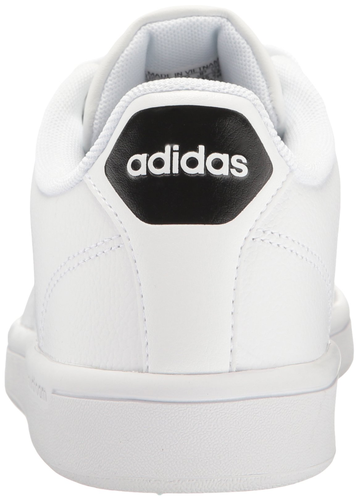 adidas Women's Shoes Cloudfoam Advantage Clean Sneakers, White/White/Black, (7.5 M US) by adidas (Image #2)