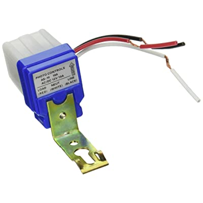 HIGHROCK Ac Dc 12v 10a Auto on Off Photocell Light Switch Photoswitch Light Sensor Switch: Automotive