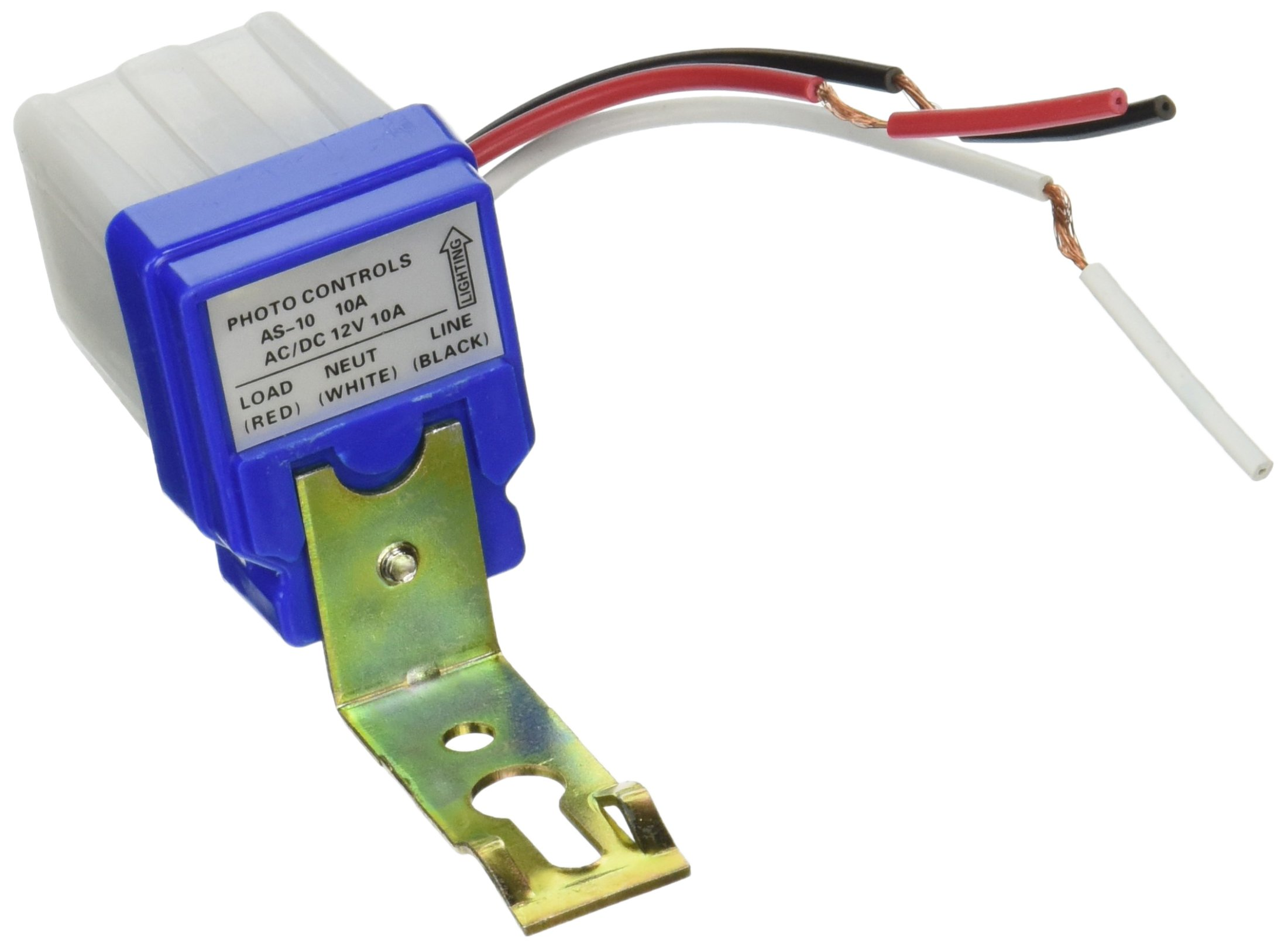 Highrock Ac Dc 12v 10a Auto On Off Photocell Light Rv Fan Wiring Diagram Switch Photoswitch Sensor Automotive