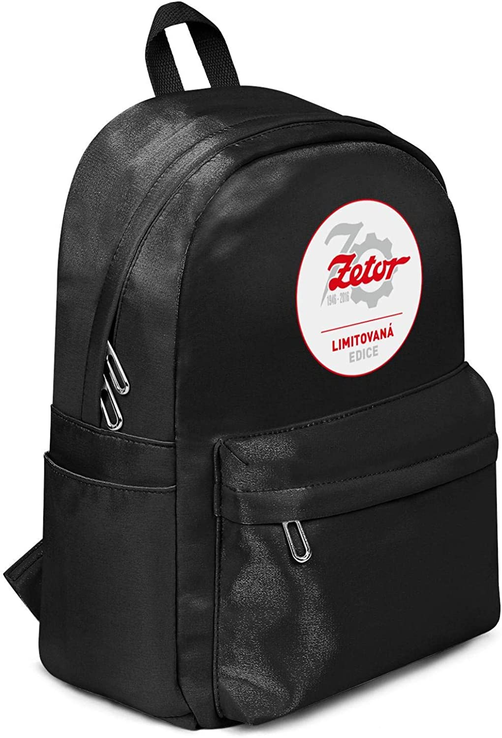 Womens Girl Boys Bag Purse Zetor-Logo Casual Nylon Durable 13 Inch Laptop Compartment Backpack Bag Purse