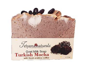 Amazon.com: Turco Mocha jabón de leche de cabra, todo ...
