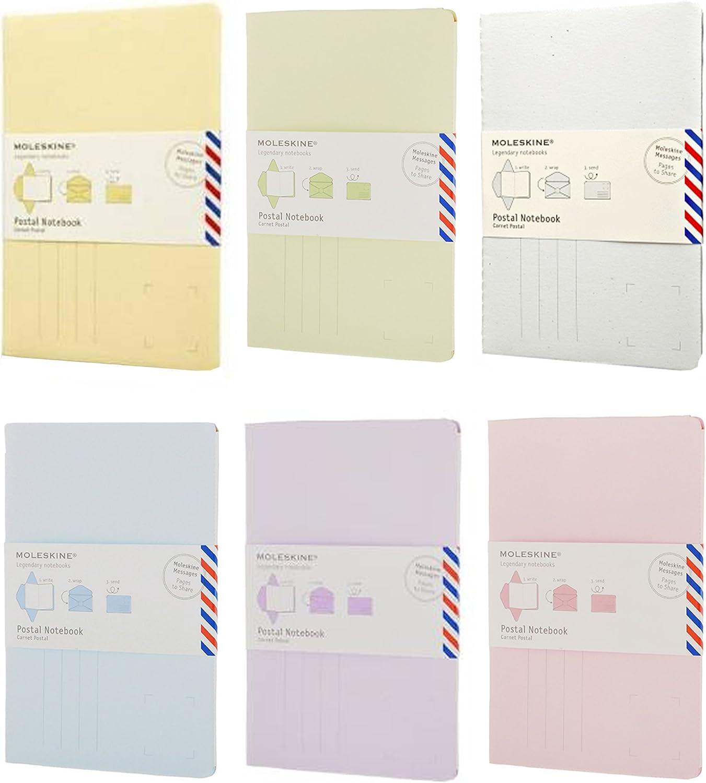 Moleskine Lot de 6 postaux ordinateur portable Grande et petite en ...