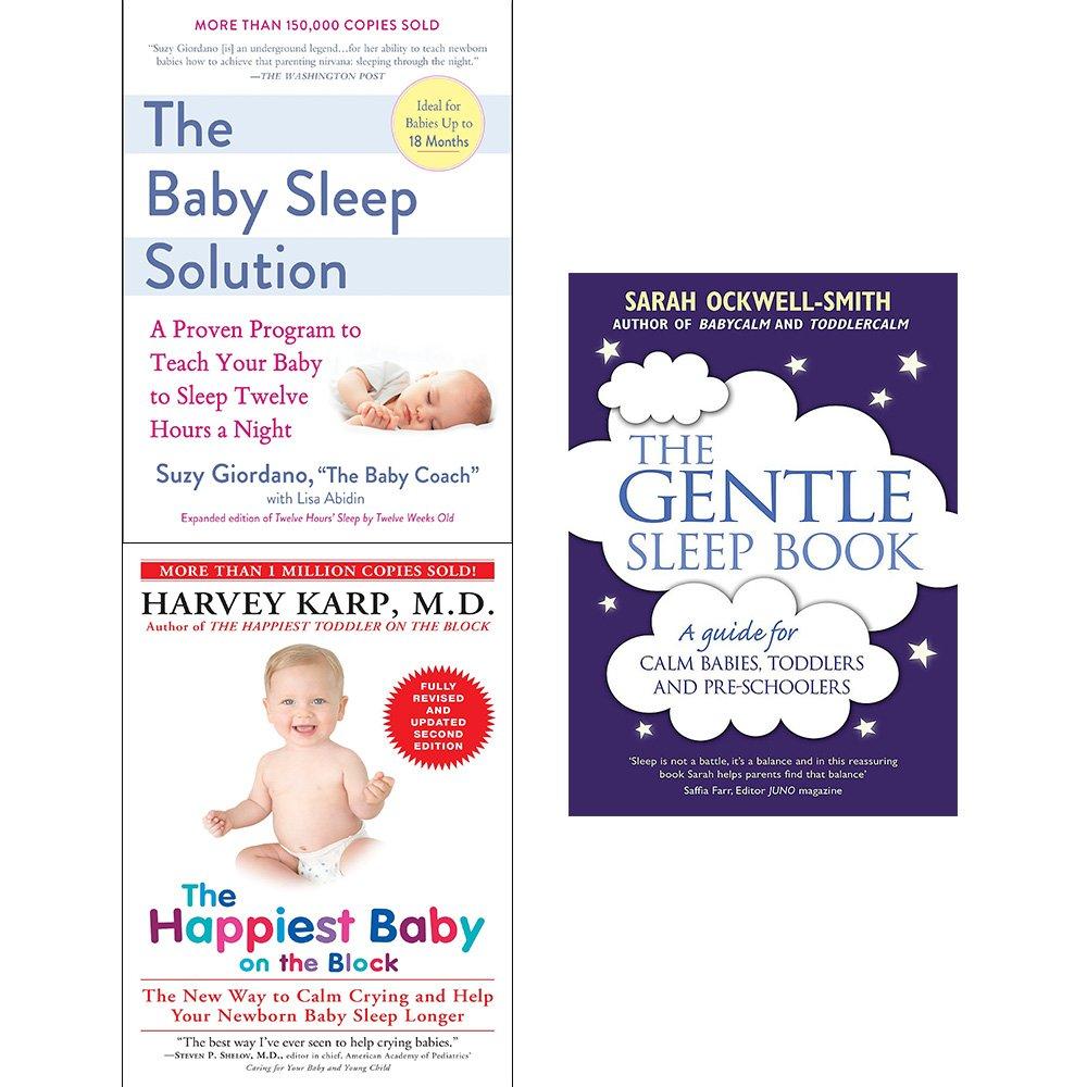 Baby sleep solution, happiest baby on the block and gentle sleep book 3  books collection set: Amazon.co.uk: Harvey MD Karp, Sarah Ockwell-Smith, ...