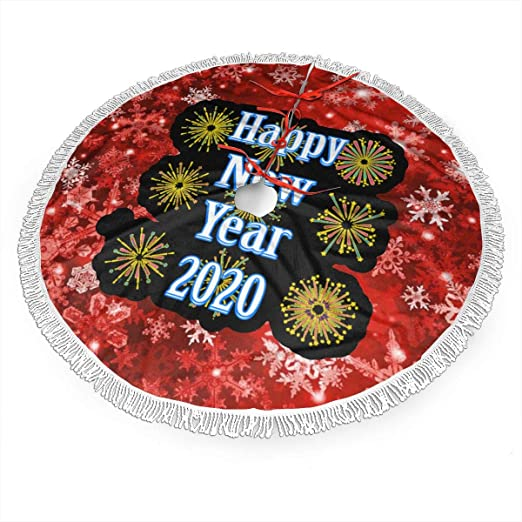 Holiday Skirts 2020 Christmas Amazon.com: Happy New Year 2020 Christmas Tree Skirt 36 Inch Tree