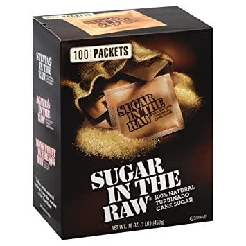 Amazoncom Sugar In The Raw Sugar In The Raw Packets 16 oz 100