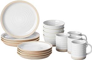 Certified International Artisan 16 piece Dinnerware Set, Set of 4, One Size, Multicolor