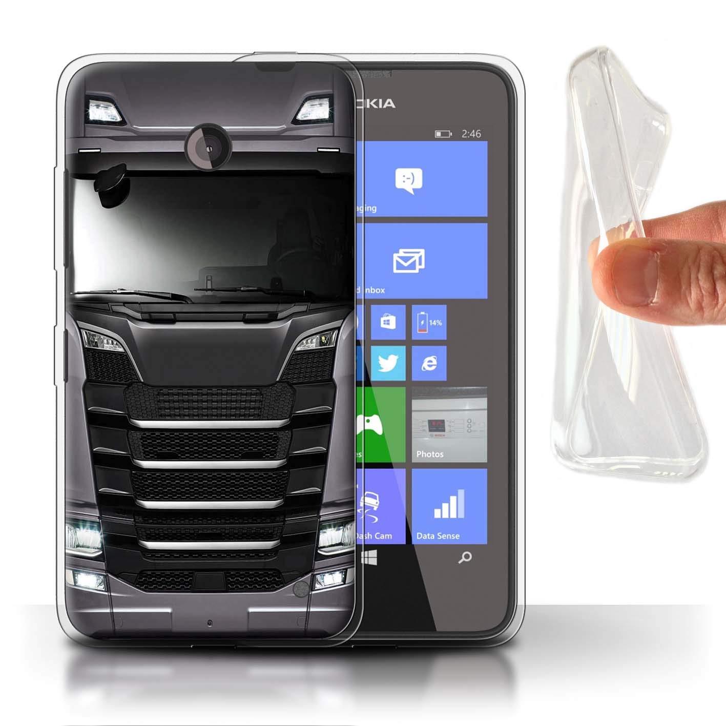 eSwish Carcasa/Funda TPU/Gel para el Nokia Lumia 635 / Serie ...