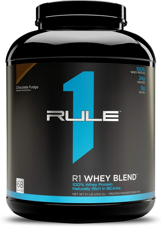 Rule 1 R1 WHEY BLEND CHOCOLATE FUDGE 70 SERV 2740 g