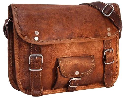 71139317d055a Gusti Leder nature  quot Emilia 10 quot  Genuine Leather Handbag Satchel 10  Inch Laptop Cross