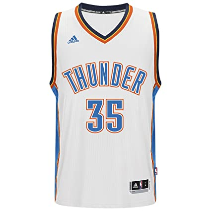 1fb97f17eb11c Amazon.com : adidas Oklahoma City Thunder Kevin Durant #35 White ...
