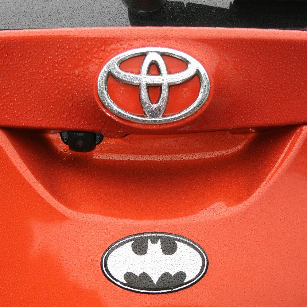 Cellphones DC Comics Automotive Emblem Sticker Applies Easily to Cars etc Motorcycles LNI AUSTRALIA 9672-004 Fan Emblems Batman Logo Car Decal Domed//Black//Chrome Finish Laptops Windows Trucks