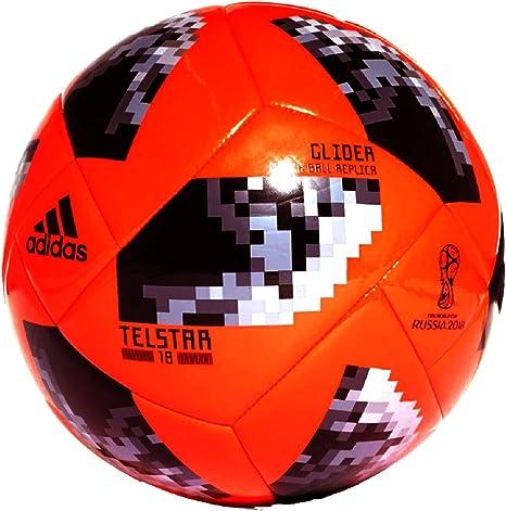 Adidas - Balón de fútbol de la Copa Mundial de Rusia 2018 para adultos (talla 5), diseñado para el campeonato de Rusia: Amazon.es: Deportes y aire libre