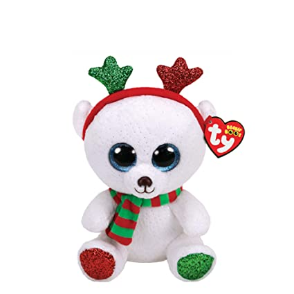 Image Unavailable. Image not available for. Color  Ty Beanie Boo Frost The Bear  2018 Claire s Exclusive f66b9d45673b