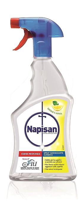 57 opinioni per Napisan Spray Igienizzante Superfici Limone e Menta