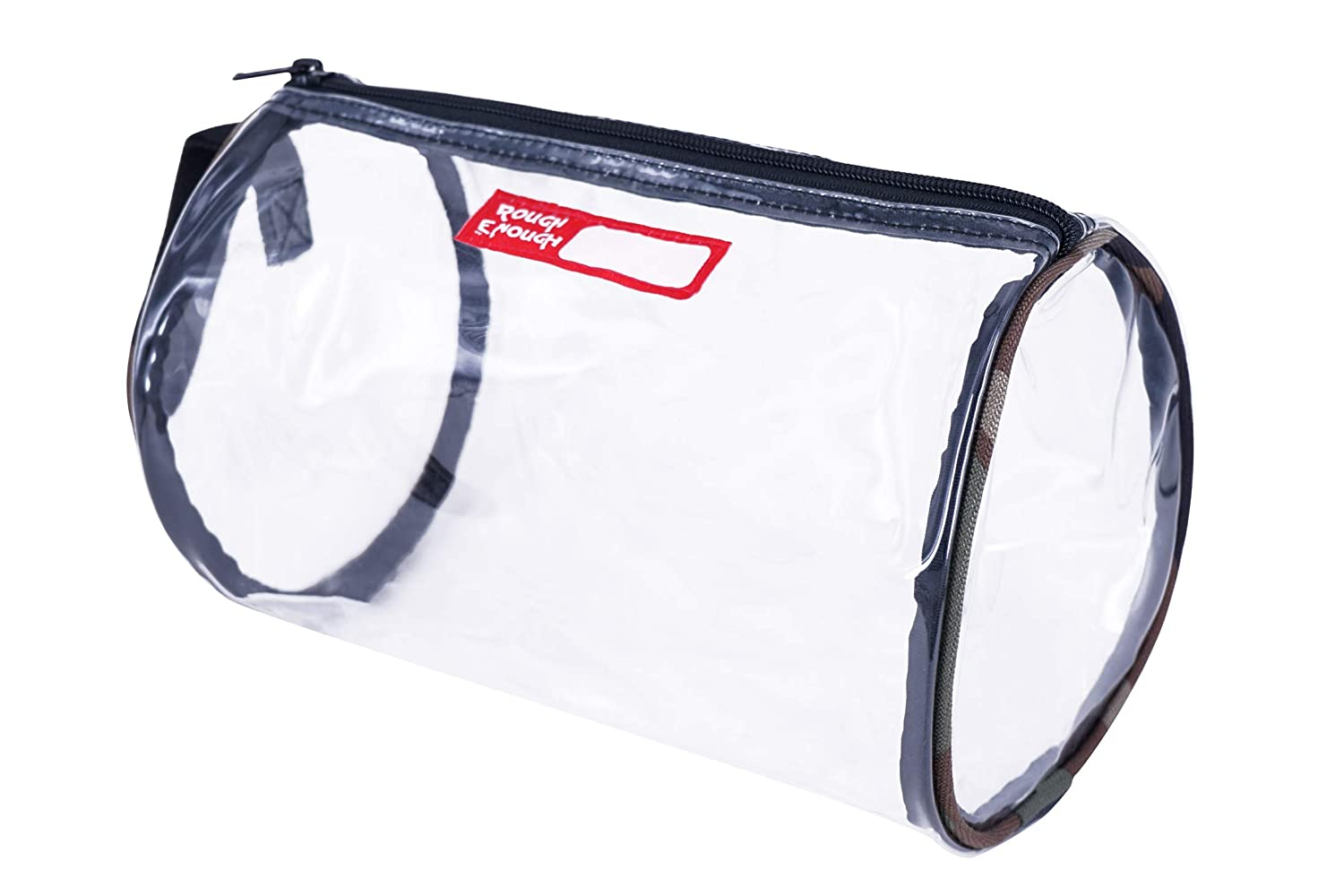 4752569f9c4f Rough Enough Large Clear Toiletry Makeup Cosmetic Travel First Aid Bag  Organizer Pouch with...
