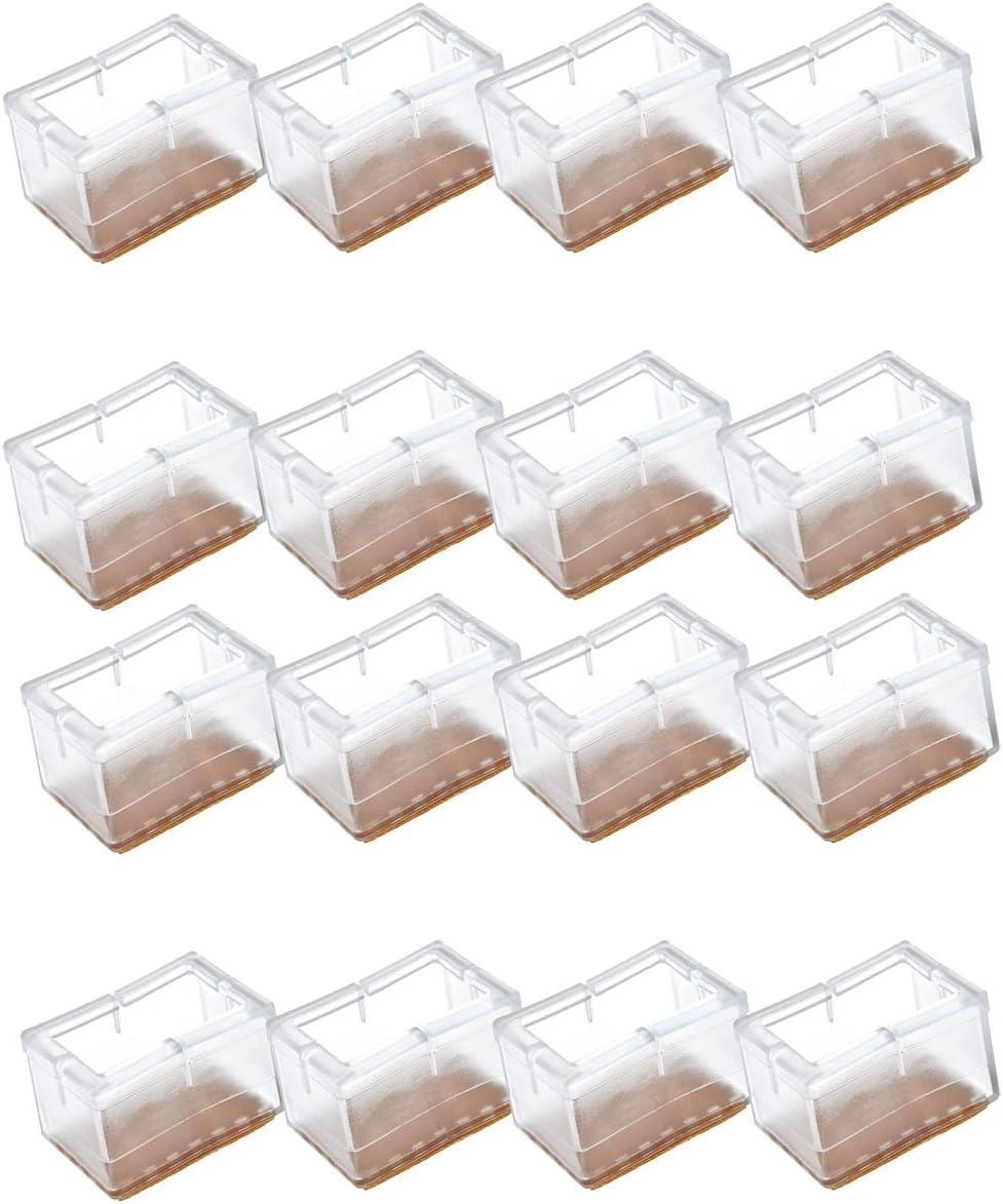 1-24X Tischfuß Stuhlbeinkappen Silikon Fußbodenschutz Tischabdeckung Möbel Caps