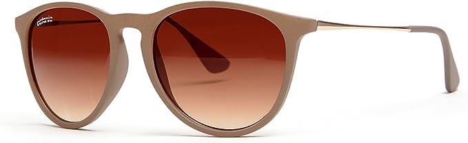 Catania Occhiali ® Gafas de Sol - Gafas Unisex Redondas UV400