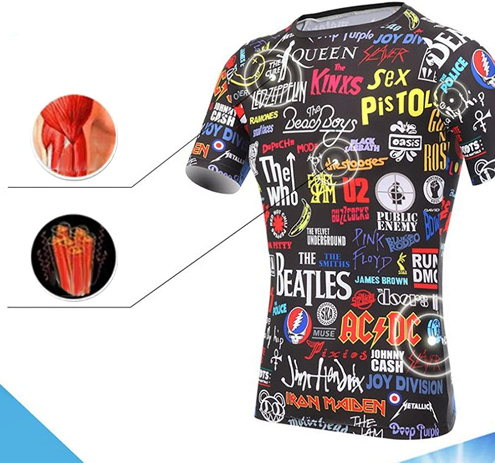 Unisex Cycling Jersey Quick Dry MTB Bicycle Clothing Bike Wear T Shirt Short Sleeve Tops
