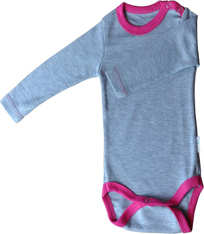Bodys Babys M/ädchen Jungen Weiss gr/ün gelb farbig Baumwolle Princess Taufkleid 2 Doppelpack