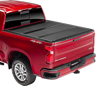 Amazon Com Undercover Armorflex Hard Folding Truck Bed Tonneau Cover Ax32009 Fits 2019 20 New Body Style Dodge Ram 1500 Does Not Fit With Multi Function Split Tailgate 6 4 Bed Automotive