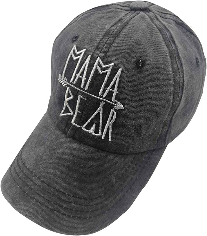 Unisex Mama Bear Denim Hat...